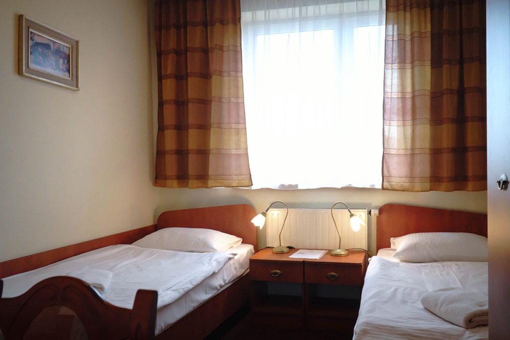 Dwójka z dwoma łożkami